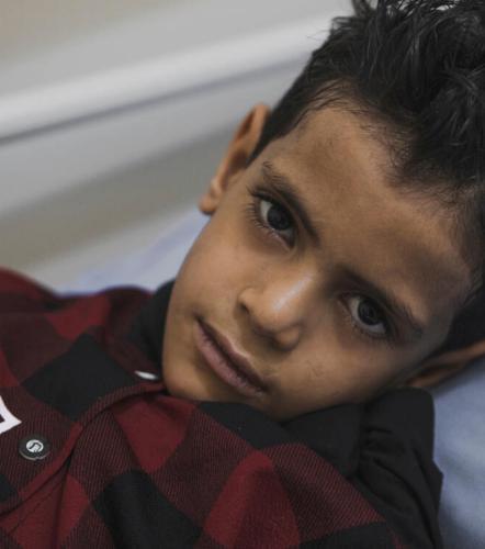 Omar*, 8, Yemen