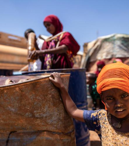 CLIMATE CRISIS - 710 million children live in countries at high risk