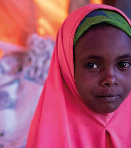 Sahra*, 8, Somalia
